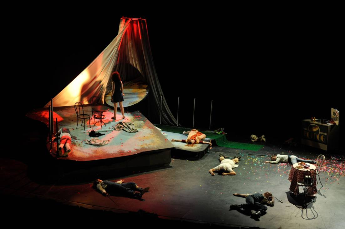 The Wonderful World of Dissocia (2016) / Loeb Drama Center (Cambridge, MA)